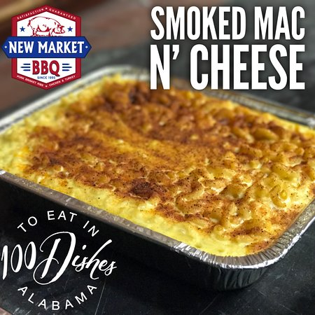 New Market, AL: Our Smoked Mac n' Cheese is on the 100 Dishes to Eat in AL Before You Die List!