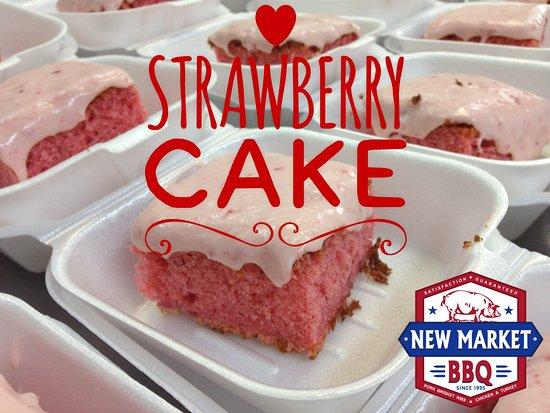 New Market, AL : Homemade Strawberry Cake
