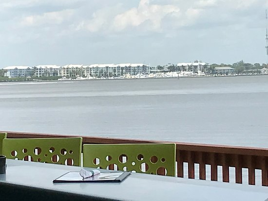 Riverwalk: Looking North across the St. Lucie River from Mulligans