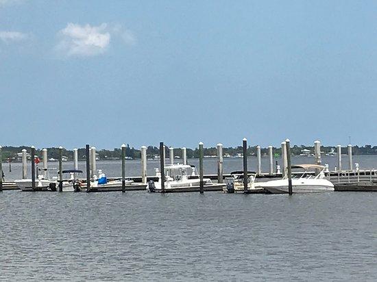 Riverwalk: Stuart City Dock on the Boardwalk