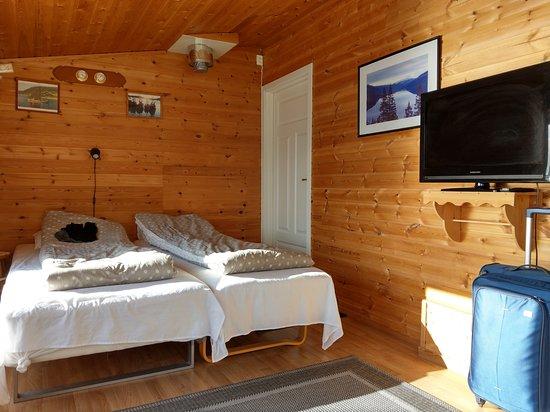 Bogen i Ofoten, النرويج: Die Betten