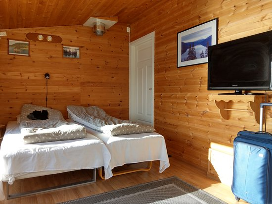 Bogen i Ofoten, Norge: Die Betten