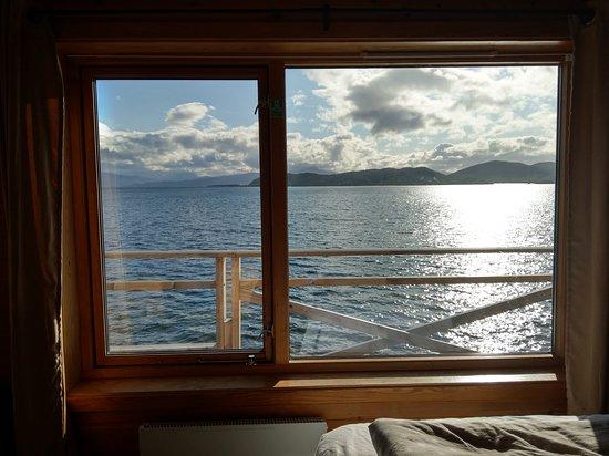 Bogen i Ofoten, النرويج: Aussicht vom Zimmer