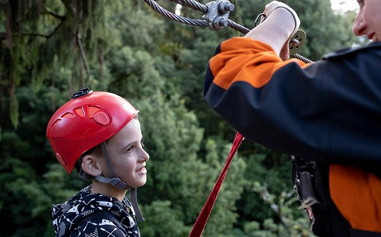 Safety with Rotorua Canopy Tours guides