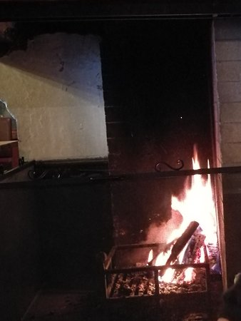 the fireplace next to our table picture of frognerseteren rh tripadvisor com au