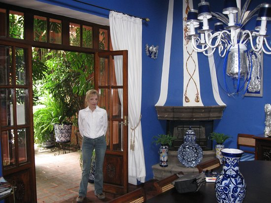 Beautiful Royal Blue And Silver Dining Room Picture Of Casa