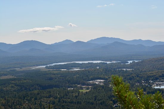 Saranac Lake, NY: Summit of Baker Mountain