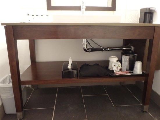 Country Inn And Suites: Under Sink Storage (has Blowdryer)