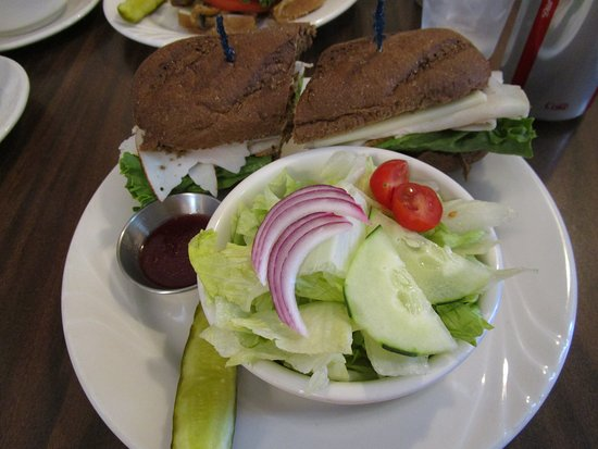 Rocky Ford, CO: Turkey Sandwich on Honey Wheat Roll