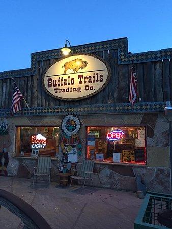 Buffalo Trails Trading Company: Best buffalo burgers and coconut cream pie!