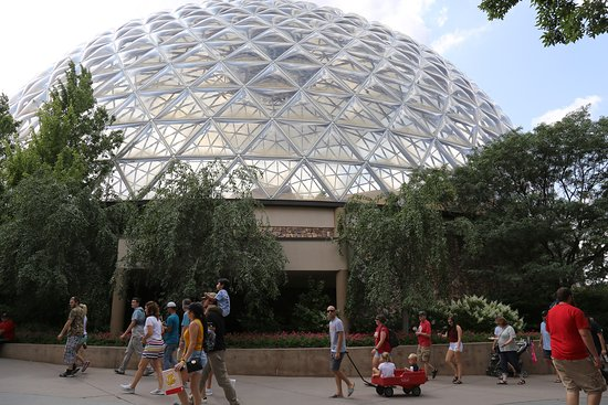 A Bio Dome Housing A Desert Environment Picture Of Henry Doorly