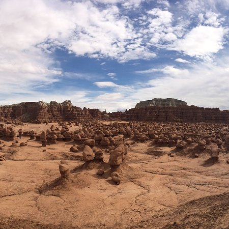 Goblin Valley State Park: There is so much to explore and see in Goblin Valley. It is so unusual.