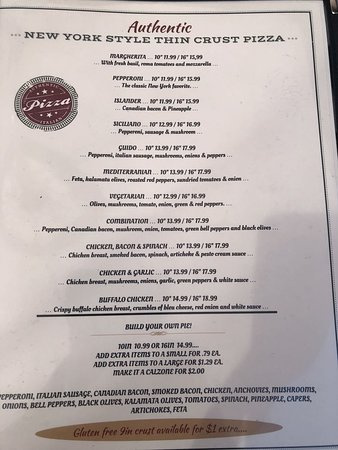 Graham, WA: menu