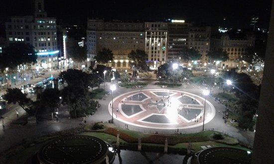 Vista De La Plaza Cataluña Desde La Terraza Picture Of