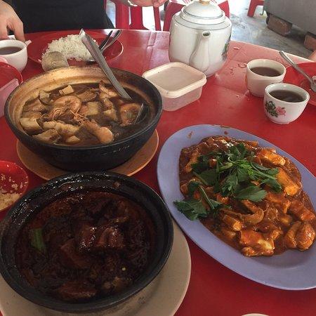 Tanjong Sepat, ماليزيا: Seafood bak kut Teh