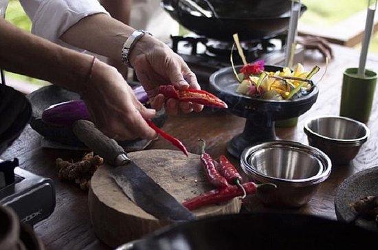 Clase de cocina en el restaurante...