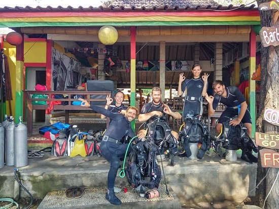 La Bila Dive Resort Amed: Discover Scuba Diving with PADI  Bila Dive Resort in Amed Bali