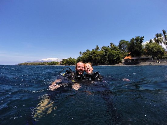 Scuba Adventure  with PADI  Bila Dive Resort in Amed Bali