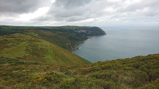 North Devon Coast Area of Outstanding Natural Beauty: Overlooking Lynmouth