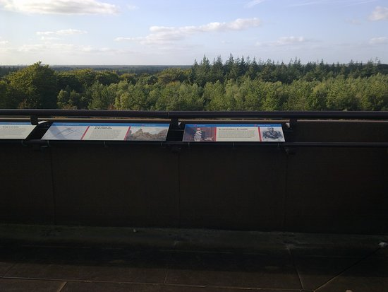 Woudenberg, The Netherlands: View from The pyramid of Austerlitz