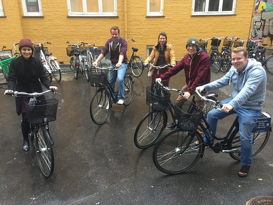 Copenhagen BikeTours meetingpoint at Nørrebro. From here we are ready to see wonderful Copenhage