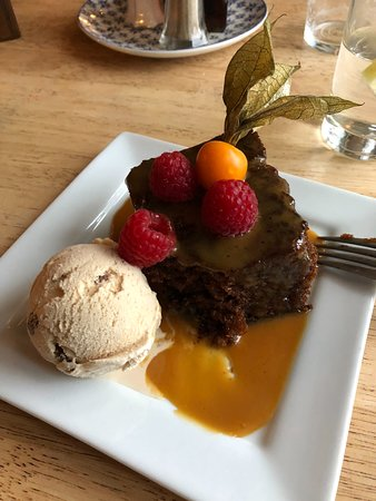 Little Haven, UK: Sticky Toffee Pudding