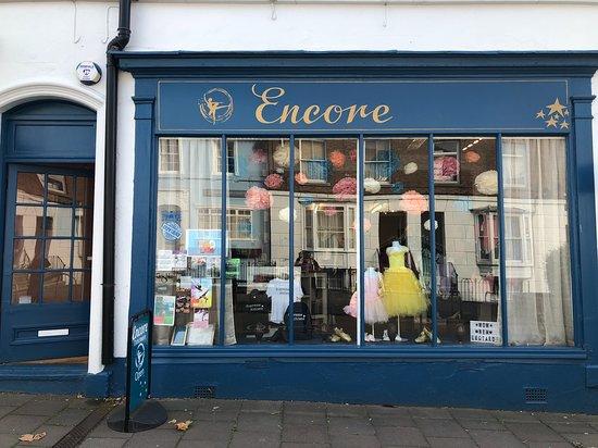 Herne Bay, UK : shop Front