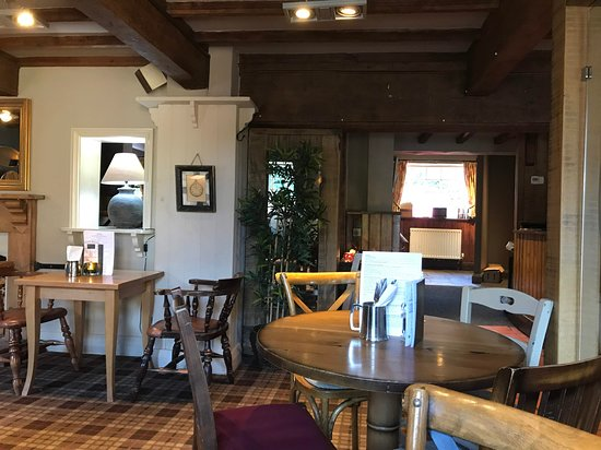 Wombourne, UK: Well placed dining area