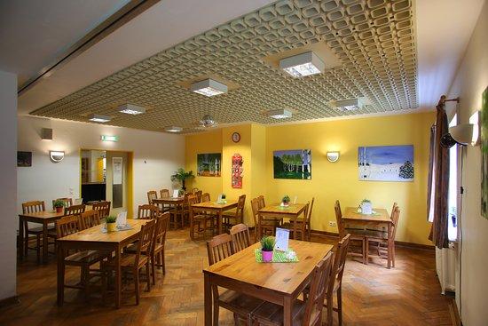 Geesthacht, Deutschland: Speisesaal der Jugendherberge