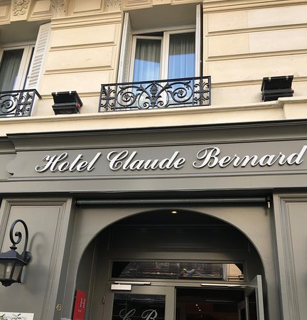 Hotel Claude Bernard Saint-Germain: Hotel Claude Bernard, Rue des Ecoles, 5th Arr. Latin Quarter, Paris