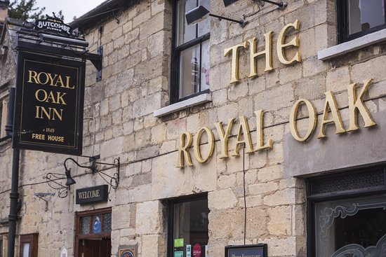Prestbury, UK: Royal Oak Front
