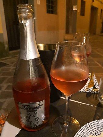 Calcinaia, إيطاليا: prosecco rosè superlativo!