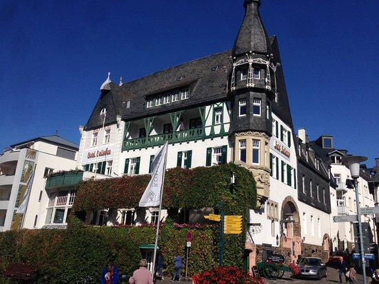 """Restaurant ,, Belle Epoque"""" Im Hotel Bellevue: Aussenansicht"""
