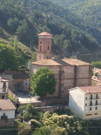 Ortigosa De Cameros, สเปน: Otra vista desde la zona de las cuevas