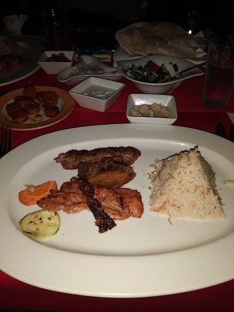 Sharm Resort Hotel: Večeře v Libanonské restauraci