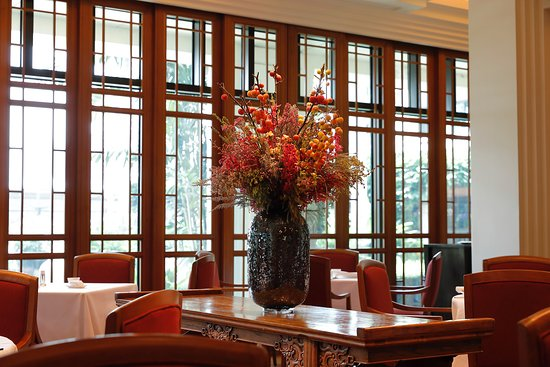 Mei Jiang: Floral Arrangement In Dining Area.
