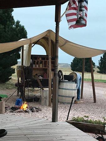 Fort Laramie, Вайоминг: Morning Cowboy Coffee