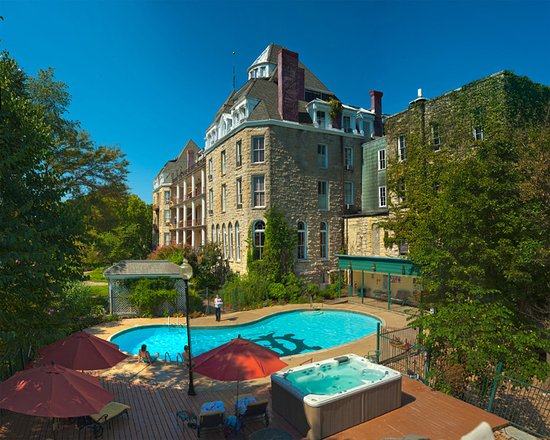 1886 Crescent Hotel Spa Eureka Springs Ar Foto S Reviews En Prijsvergelijking Tripadvisor