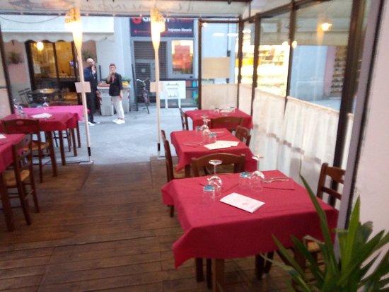 Province of La Spezia, Italia: Ristorante papavero ottima cucina personale fantastico
