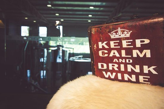 Itaqui, RS: Keep calm and Drink Wine
