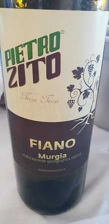 Montegrosso, Itália: highly recommended house white wine