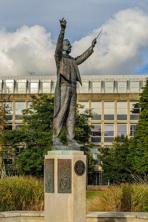 Gustav Holst Statue