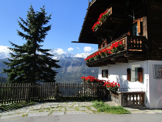 Umhausen, Austria: our apartment was on the first floor of this farmhouse