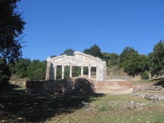 Apollonia: Il tempio di Diana