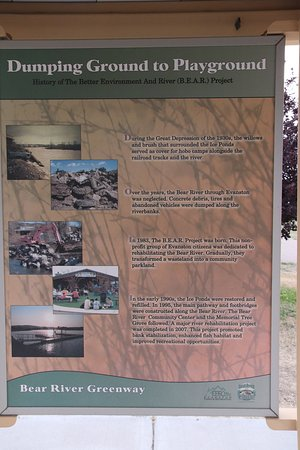 Bear River State Park: Dumping Ground in the past