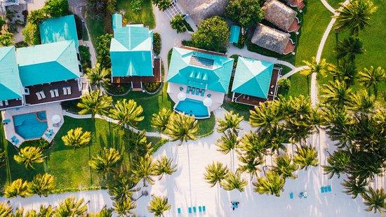 Belize glass bottom spa resorts