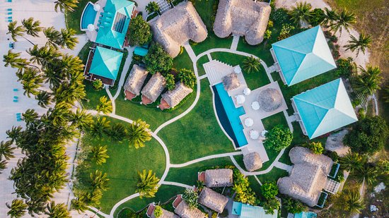 Aerial view of Victoria House Resort & Spa