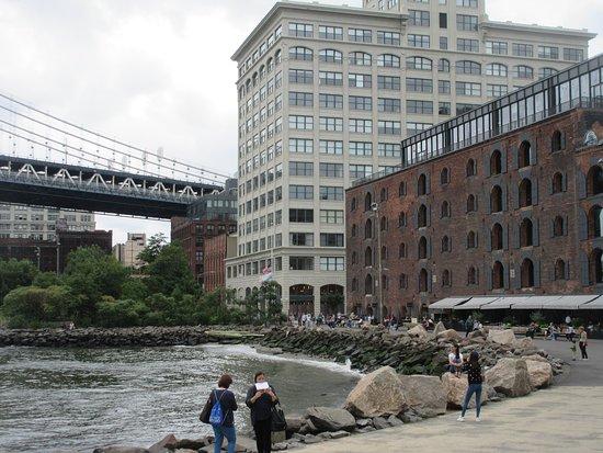Jane S Carousel Manhattan Bridge And Water Front Restaurant Near By