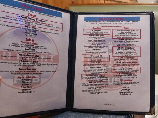 Absecon, Nueva Jersey: I recommend the Stockton Savage Burger, it's a winner.