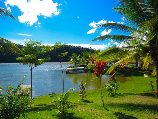 Tarapoto, Peru: Paisajes de los alrededores Laguna Azul